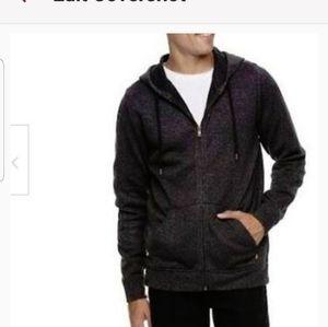 Levis Hoodie Jacket Men's Black Size L
